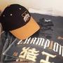 Lamigo2017猿王總冠軍棒球帽+短T組(市價2280元)