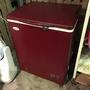 超可愛迷你紅色冷凍櫃