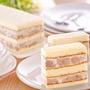 名店【高雄不二家】4條入  真芋頭蛋糕 ★嚴選新鮮大顆芋頭,蒸煮後拌和法國奶油