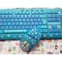 哆啦A夢鍵盤/機器貓鍵盤/叮當鍵盤 usb有線卡通鍵盤/鍵鼠套裝 防水