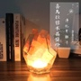 【生活市集】現代感水晶鹽燈❗️喜馬拉雅鹽燈 淨化負離子❗️鹽燈 喜馬拉雅鹽燈 小夜燈 創意禮物 生日禮物