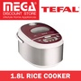 TEFAL RK8105 RICE COOKER1.8L   / LOCAL WARRANTY