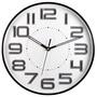 全新NAKAY立體數字12吋靜音掛鐘(NCL-37)