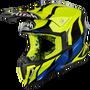 ★恆邦車業(越野部品)★ 2019 Airoh 原裝進口 選手款 黃藍黑 配色 越野帽 越野 滑胎 騎士 安全帽
