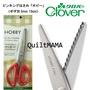拼布媽媽 QuiltMAMA 可樂牌 波刃剪刀 Clover 36-632 鋸齒剪刀 鋸齒剪