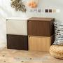 日式木質木門櫃 可堆疊層櫃 置物櫃 收納櫃 居家收納 辦公室 置物架 木櫃 日系風格 簡約家具【CC-AJS3103B】