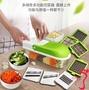 廚房神器 多功能廚房切菜神器刨削土豆絲切絲器刮擦絲家用切丁粒水果切片機