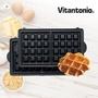 【日本Vitantonio】鬆餅機方型鬆餅烤盤