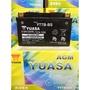 湯淺YUASA機車電池 YT7B-BS(同GT7B-BS)7號機車電池 7號薄型電池 2019年4月製造