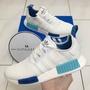 【公司貨】Adidas Originals NMD R1 白藍 聖保羅 網布 S75235 輕量 慢跑鞋