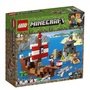 ||一直玩|| LEGO 21152 The Pirate Ship Adventure (Minecraft)