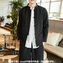 現貨|中國風|唐裝|秋季中山裝夾克中國風男裝復古盤扣中式外套