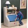 【華森葳兒童教玩具】功能家具與配件-Step2 書架收納箱 A4-7633