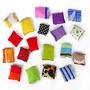 懷舊童玩 沙包 砂包 五入方形袋裝沙包 (不含罐子) 傳統童玩