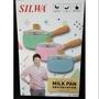 【yoyo home】西華SILWA 多功能木柄牛奶鍋16cm 玻璃蓋