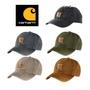 【毒】 Carhartt Odessa Old Cap Logo 卡其色 墨綠 皮標 魔鬼氈 水洗 復古 老帽 彎帽