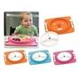 美國SKIP HOP 防滑餐墊和餐盤 - 粉色