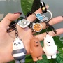 We Bare Bear Keychains