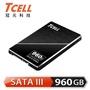 【TCELL 冠元】TT550_960GB SSD 2.5吋固態硬碟3D TLC 英倫紳士風(讀:550M/寫:480M)