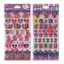 【現貨】日本進口 迪士尼 米妮 米奇 黛西 唐老鴨 寵物娃娃 立體貼紙 水晶貼紙 透明貼紙
