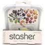 全新現貨 Stasher 方形矽膠密封袋 舒肥袋 中秋烤肉醃肉 副食品冷凍