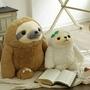 超可愛卡通樹懶毛絨玩具抱枕公仔  兒童  男生  女生  兒童節  生日  情人節禮物