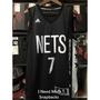 [INMS]全新 Adidas NBA 布魯克林籃網 Jeremy Lin 客場黑 熱轉印 球衣 CC3060 林書豪