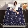 極細纖維磨毛單人床墊組 (床墊/地墊/和室/客廳) 星空藍