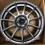 [二手]汽車輪框- DG FG02 17吋 輕量化 旋壓鍛造 鋁圈 全車系適用 消光鐵灰