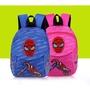 兒童嬰兒書包1-3歲寶寶防走失背包卡通幼兒雙肩小童背包可愛男女蜘蛛人背包