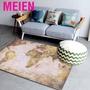 Meien 主頁出售世界地圖地毯防滑地板墊軟區域地毯Ca