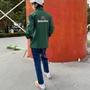 古著 Heineken 海尼根啤酒 F1賽車 Formula1 贊助外套 防潑水立領夾克 防寒防雨 深綠 賽車L