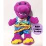 2001年 Life Guard Barney 紫色恐龍 邦尼恐龍 救生員 巴尼 邦尼 玩偶 絕版 美國 二手玩具