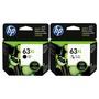 HP 63XL高容量 黑+彩原廠墨水匣 適用DJ1110/1112/2130/2131/2132/2133/2134