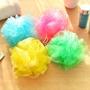 5個裝居家衛浴必備 大號 可愛彩色沐浴球 搓澡球