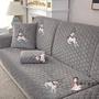 沙發套  毛絨沙發墊冬季歐式灰色防滑坐墊通用布藝簡約現代時尚沙發巾套罩 5色