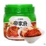 清淨園韓國泡菜正宗辣白菜宗家府切件泡菜東北韓式下飯菜1.2kg/罐