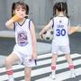 兒童籃球服 籃球衣 兒童NBA球衣 中小兒童 團體活動 兒童款騎士隊勇士隊公牛湖人運動套裝 男孩女童夏裝幼稚園演出服