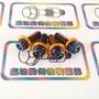 勁戰四代 三代  新勁戰 後扶手內外六角鍍鈦螺絲 台製CNC 內外六鍍鈦後扶手螺絲