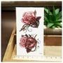 玫瑰鑰匙與鎖 T-068【LA❇TATTOO】男女防水DIY紋身貼紙刺青貼紙