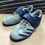 Adidas舉重鞋 powerlift 藍 科技迷彩 US9.5
