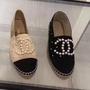Chanel espadrilles 鉛筆鞋 最新珍珠款