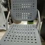 塑鋼烤漆鐵腳課桌椅/折合椅/折疊椅