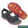 【MEI LAN】GOODYEAR 固特異 紅雀 越野 沙灘 運動涼鞋  耐磨 止滑 柔軟 可拆後帶 83610 黑紅