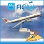 FlyHigh飛機模型 1/200仿真中國國際航空 A350-900 民航客機拼裝實心塑料 擺件收藏