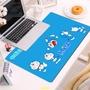 超大滑鼠桌墊加長桌墊電競滑鼠墊卡通動漫新款叮當貓鼠標可愛哆啦A夢女生 書機器貓課桌墊定制膠墊