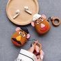 『彈頭先生』玩具總動員 土豆先生夫婦 Airpods保護套 1/2代通用 矽膠 防摔 蘋果耳機殼 配同款掛繩