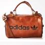 Adidas 愛迪達三葉草 肩背包圓筒包