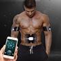 優惠價充電智能APP多功能按摩器男女全身腹肌運動美體貼電療迷你健腹儀