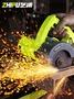 芝浦云石機瓷磚手提切割機電動鋼木材多功能石材開槽機無齒鋸家用 英雄聯盟